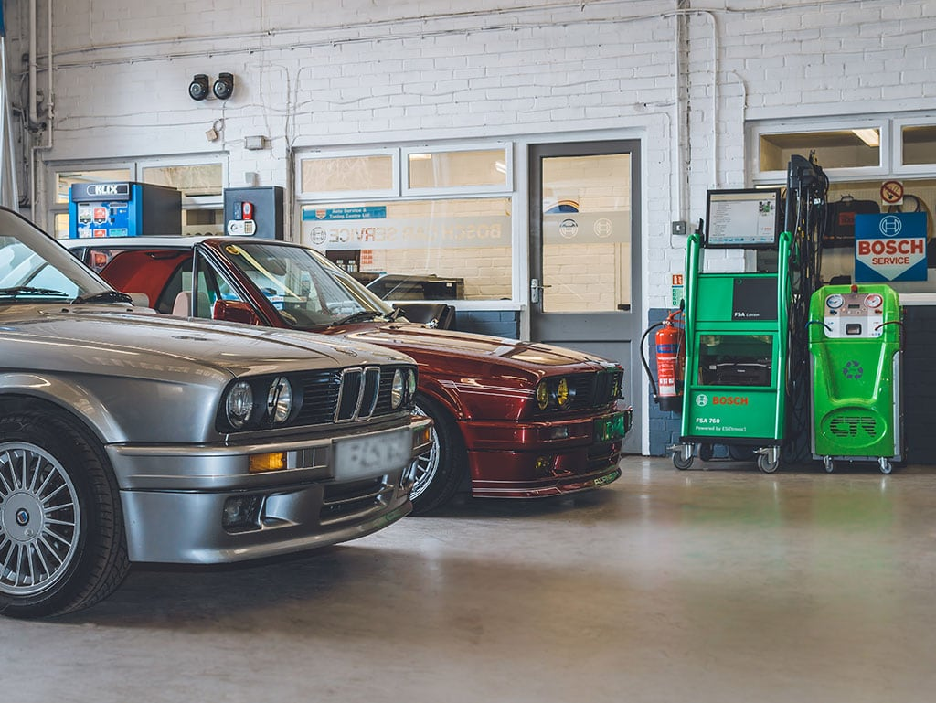Undertaking regular car servicing