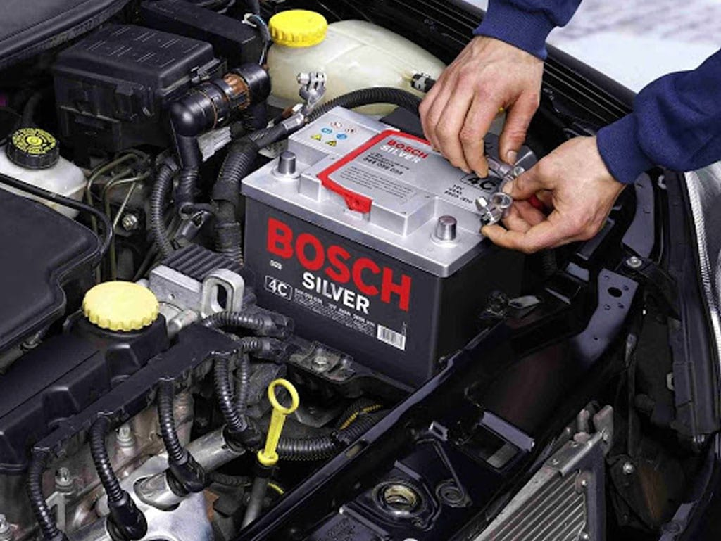 bosch battery service and repair