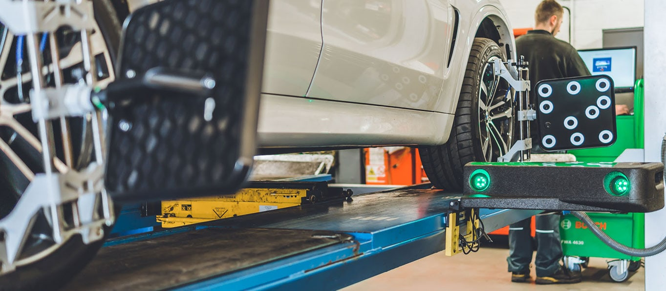 bosch wheel alignment service
