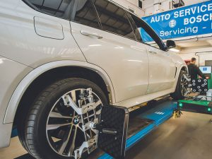 bosche wheel alignment service hitchen